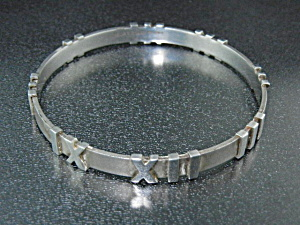 Tiffany & Co Atlas Bangle Bracelet Italy (Image1)