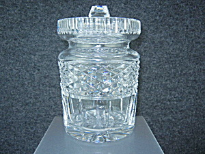 Waterford Crystal Honey Sugar Jar With Lid