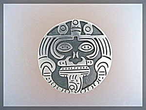 Sterling Silver Mexico Signd Brooch JCL (Image1)
