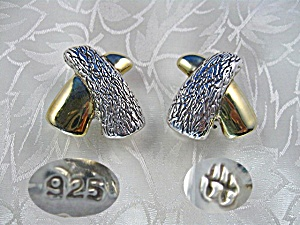 Earrings Sterling Silver Gold Vermeil Paloma Picasso