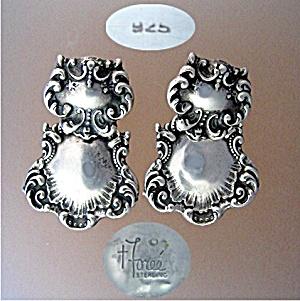 Sterling Silver FOREE Pierced  Earrings (Image1)