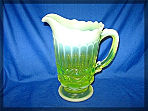 Vaseling Glass Pitcher 8 inch (Image1)