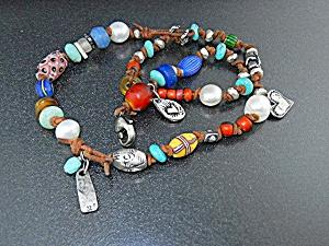 Jess Maharry Sterling Silver Charms Beads Necklace Joy (Image1)