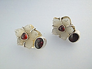 Earrings AMY KHANN RUSSELL Sterling Silver Clips (Image1)