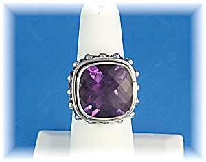 Ring Amethyst Sterling Silver  (Image1)