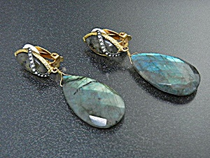 Type Swarovski Crystals Laborodite Alexis Bittar Clip Earrings Country Of Origin Us Manufacturer Labradorite