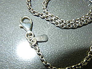 SILPADA Sterling Silver Chain Necklace USA (Image1)