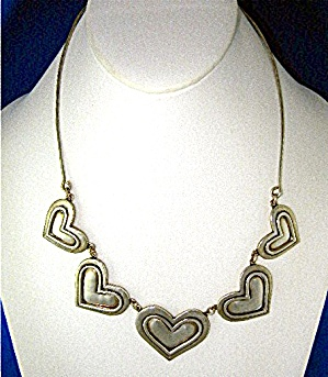 JEEP COLLINS Sterling Silver Hearts TexasNecklace (Image1)