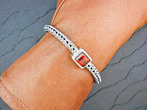 LORI BONN Sterling Silver Amber Bracelet (Image1)