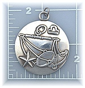 Pendant Margot Van Voorhis Zodiac Sterling Silver Mexic (Image1)