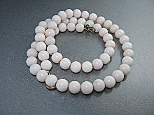 Angelskin Coral Beads Necklace
