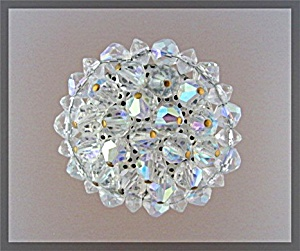Crystal Borealis Vintage Brooch Pin (Image1)