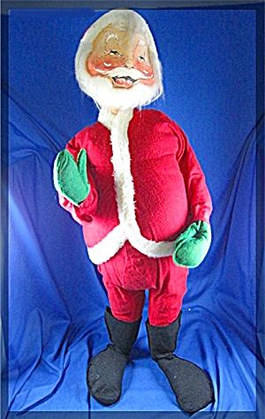Christmas ANNALEE Santa Claus 30 inch 1966 (Image1)