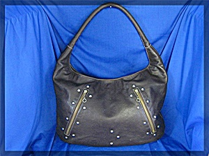 Kiki Pearl Chocolate Leather Bag