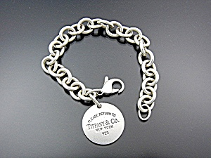 Bracelet TIFFANY Sterling Silver Links with Charm (Image1)