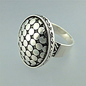 Ring Sterling Silver Pebbles By De Gruchy Indonesia (Image1)