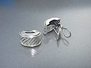 DAVID YURMAN 14K Gold Sterling Silver Earrings (Image1)
