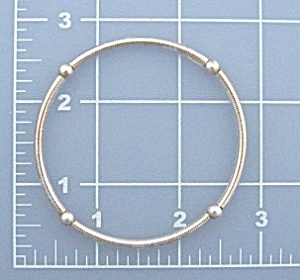 Sterling Silver Bangle Bracelet (Image1)
