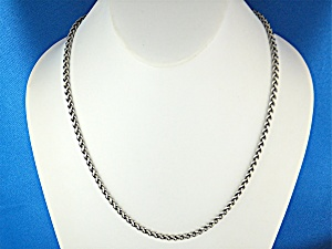 type james avery sterling silver wheat chain necklace country of origin us manufacturer james avery sterling silver wherat chain necklace usa