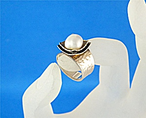 SILPADA Sterling Silver Freshwater 9mm Pearl Retired (Image1)