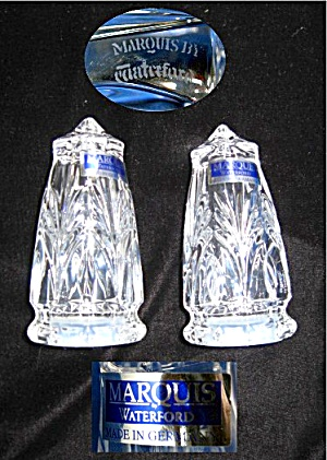 Waterford Salt and pepper Set Marquis Germany (Image1)