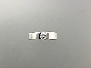 Ring 14K White Gold .33Ct Diamond Band Ring (Image1)