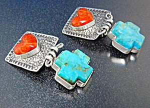 David Troutman & Gundi Sterling Silver Turquoise Coral