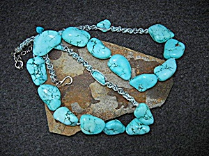 Silver Creations Sleeping Beauty Turquoise Sterling Si