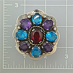 Ring Gemstones Sterling Silver Patrick Yazzie