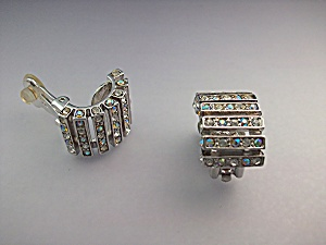 Earrings ST JOHN Borealis Crystal Clip On  (Image1)