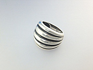 Ring Sterling Silver Dome Thailand