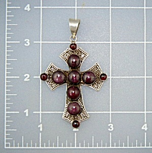 Cross Star Garnets Sterling Silver Indonesia