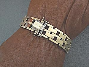 Bracelet 9ct European Gold Bracelet England LJM (Image1)