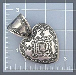 ROCKI GORMAN Sterling Silver Heart Pendant (Image1)