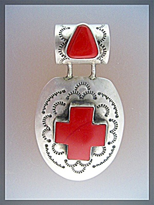 Sterling Silver ROSARITA  Stone By CLYDE BEGAY (Image1)