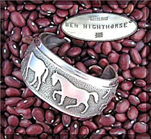 Ben Nighthorse Campbell Sterling Silver Bracelet