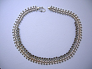 Necklace Sterling Silver Gold Vermeil (Image1)
