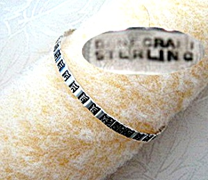 Sterling Silver DANECRAFT Bangle Bracelet (Image1)
