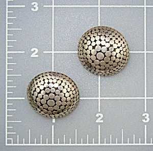 John Hardy Sterling Silver Dot Clip Earrings Indonesia (Image1)