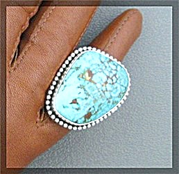 Carico LakeTurquoise PAUL LIVINGSTONE Sterling Silver (Image1)