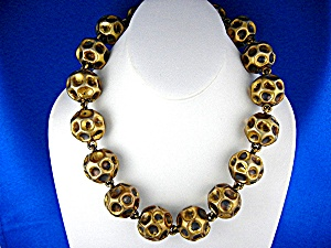 Necklace Gold Vermeil Sterling Silver  OLYMPIA (Image1)