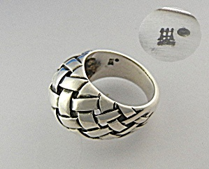 James Avery Texas Sterling Silver Ring