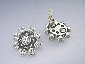 Earrings BRIGHTON Crystal Clip on. (Image1)