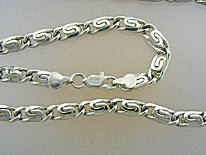 Necklace Vintage Ornate  Sterling Silver  (Image1)