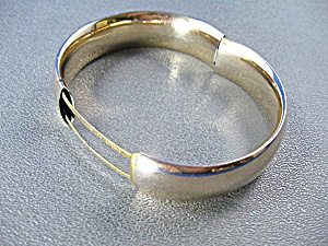 Antique Gold Fill 1910 Bangle Bracelet   (Image1)