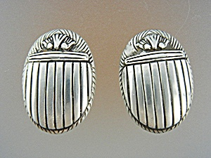 Earrings Sterling Silver Clip On By Kelley Silver  (Image1)