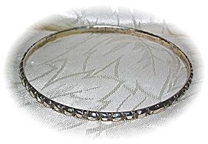 2 English  Antique Narrow Bangle St Bracelets (Image1)