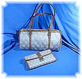 Bag Dooney & Bourke Barrel Bag & Checkbook Wallet (Image1)