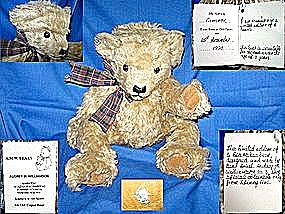 Mohair Teddy Bear England Limited Cameron #4 of 5 (Image1)