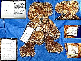 Teddy Bear Made In England Limited Edition #4 Of 5